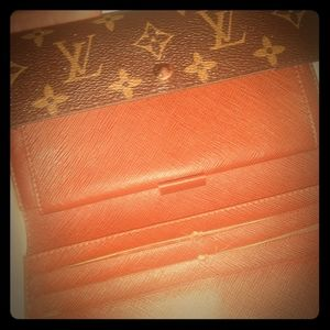 Louis vuitton monogram trifold Sarah wallet